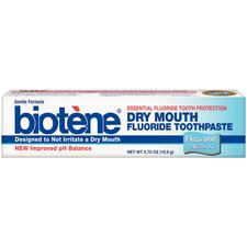 Biotene® Fresh Mint Toothpaste – 0.7 oz Tube, 36/Pkg