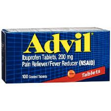 Advil® (Ibuprofen) – 200 mg Strength, 200 mg