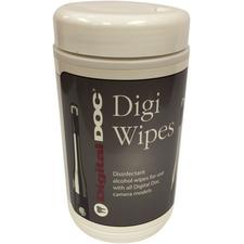 Digi Wipes Camera Disinfectant Wipes, 110/Canister