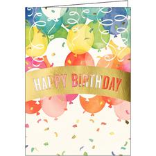 "Traditional Birthday Assortment Pack, 7-7/8"" x 5-5/8"", 50/Pkg"