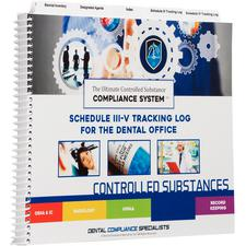 Controlled Substance Tracking System, Schedule III-V Log Plus Pad of Waste Forms