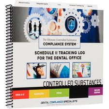Controlled Substance Tracking System Schedule II Log plus Pad of Waste Forms