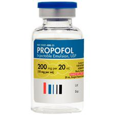 Propofol General Anesthetic – Intravenous (IV) Injection, 10 mg/ml Strength, 20 mL, NDC 25021-0608-20