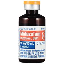 Midazolam HCl Injection – Schedule 4