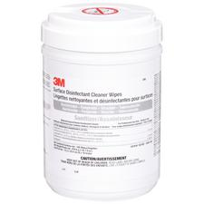 3M™ Surface Disinfectant Cleaner Wipes – 18 cm x 25 cm, 100 Wipes/Container