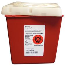 Covidien SharpSafety Sharps Container – 2.2 Quart