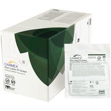 GAMMEX® Nonlatex PI Surgical Gloves – Green, 50 Pairs/Box