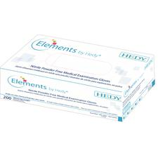 Elements by Hedy® Nitrile Powder-Free Medical Examination Gloves, 200/Box
