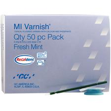 MI Varnish™ 5% Sodium Fluoride with Recaldent™, 50/Pkg