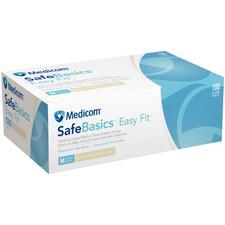 Gants d'examen en latex non poudrés SafeBasics™ EasyFit™– naturels, 100/emballage