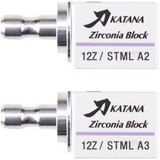 Ensemble de blocs KATANA™ Zirconia STML – Ensemble de lancement, naturel, 12Z