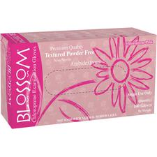 Blossom® Choloroprene Exam Gloves - Powder Free, Pink