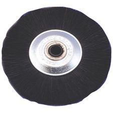 Black Bristle Wheel Brush, 1/Pkg