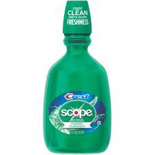 Crest® Scope Original Mint Rinse - 1.5 L Bottle, 6/Pkg