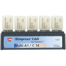Blocs IPS Empress® CAD PlanMill™ - Multi, C14, 5/emballage