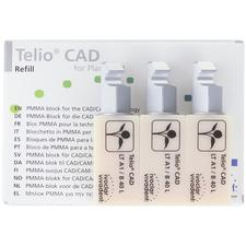 Telio® CAD for PlanMill™ Blocks, LT (Low Translucency)