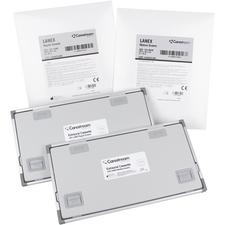 """Lanex Intensifying Screens – Regular with Double-Backed Tape, 5"""" x 12"""""""