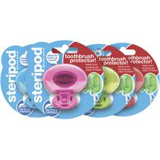 Steripod® Toothbrush Protectors, Assorted Colors