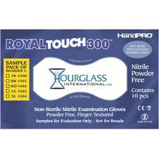 HandPRO® RoyalTouch300™ Nitrile Exam Gloves, Sample