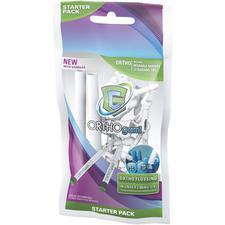 GumChucks® ORTHOgami® Flosser Starter Pack