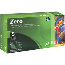 Aurelia® Zero™ Nitrile Exam Gloves – Extra Small, Powder Free, 200/Pkg