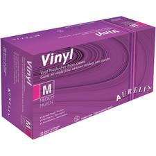 Gants d'examen en vinyle Aurelia® - Non poudrés, 100/emballage