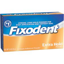 Fixodent® Powder Denture Adhesive – 1.6 oz, 24/Pkg