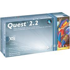 Quest 2.2 Nitrile, Powder-Free Exam Gloves, 200/Pkg