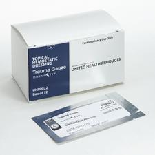 """Hemostyp Trauma Gauze – 0.75"""" x 0.75"""", 4 Ply, 20/Pkg"""