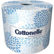 Kleenex Cottonelle® Papier hygiénique à deux épaisseurs – 451 feuilles/rouleau, 60rouleaux/caisse