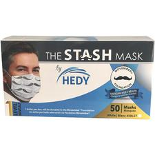 The Stash Procedure Earloop Masks, 50/Box
