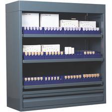 Casiers pour blocs CAD/CAM avec dispositifs d'organisation internes
