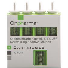 Onset® Anesthetic Buffering System Sodium Bicarbonate Injection 8.4% USP Neutralizing Additive Solution – 1.7 ml Cartridges, 4/Pkg
