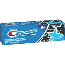 Dentifrice anti-caries au fluorure + de 6ans Kid's Crest® – Tube de 20mL, Tellement' menthe, 36/emballage