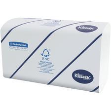 Essuie-mains Kleenex® – 2 épaisseurs Ultra, blanc, 94/emballage