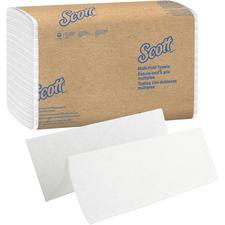 Serviettes Scott – pis multiples, blanches, 16/emballage