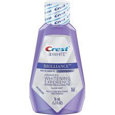 Crest® 3D White™ Brilliance™ Multi-Care Whitening Mouthwash, Clean Mint