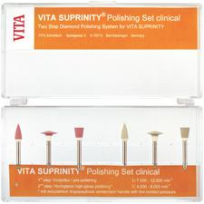 VITA Suprinity® Hi-Gloss Polishing Refill Packs – Clinical, Gray, 6/Pkg