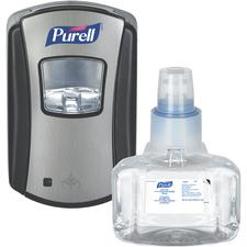 Purell® LTX-7™ Advanced Hand Sanitizer Foam Dispenser Starter Kit