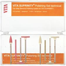 VITA Suprinity® Hi-Gloss Polishing Refill Packs – Technical, Long Pin, Gray, 6/Pkg