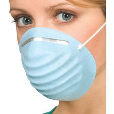 Defend® Breathe E-Z Molded Masks – Blue, 50/Pkg