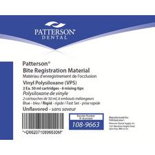 Patterson® Rigid Bite Registration Material – Fast Set, Unflavored