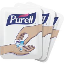 Purell® Singles™ Advanced Hand Sanitizer Gel Single-Use Packets – 1.2 ml, 1500/Pkg