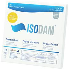 Isodam® Polyisoprene Dental Dam – Latex Free, Blue