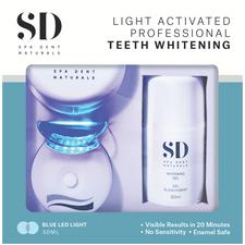 Naturals LED Home Whitening and Atercare Kit, Professional Trial Offer