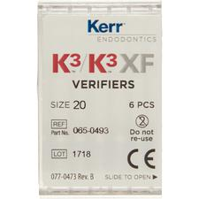 K3™/K3™XF Verifiers, 6/Pkg