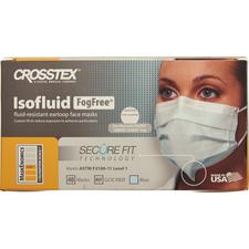 Isofluid® FogFree® Earloop Mask with SecureFit Technology – ASTM Level 1, Blue, 40/Box