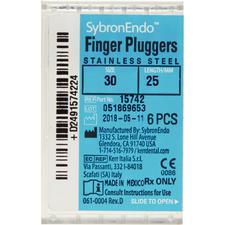 Finger Pluggers – Stretch B Handle, 6/Pkg