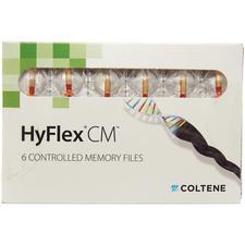 HyFlex® CM™ Controlled Memory NiTi Files – 19 mm, Taper/Size: 08/25, 6/Pkg