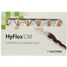 Hyflex® CM™ X-tra Spiral Files – 25 mm, 0.06 Taper, 6/Pkg